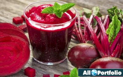 Drinking Beetroot Juice